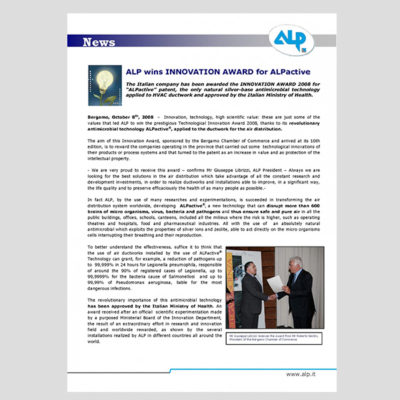 ALP Innovation Award