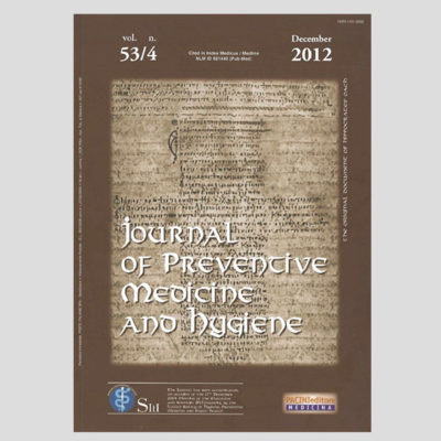 Journal of Preventive Medicine and Hygiene