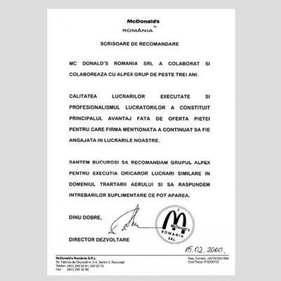 Case Study - Mcdonals